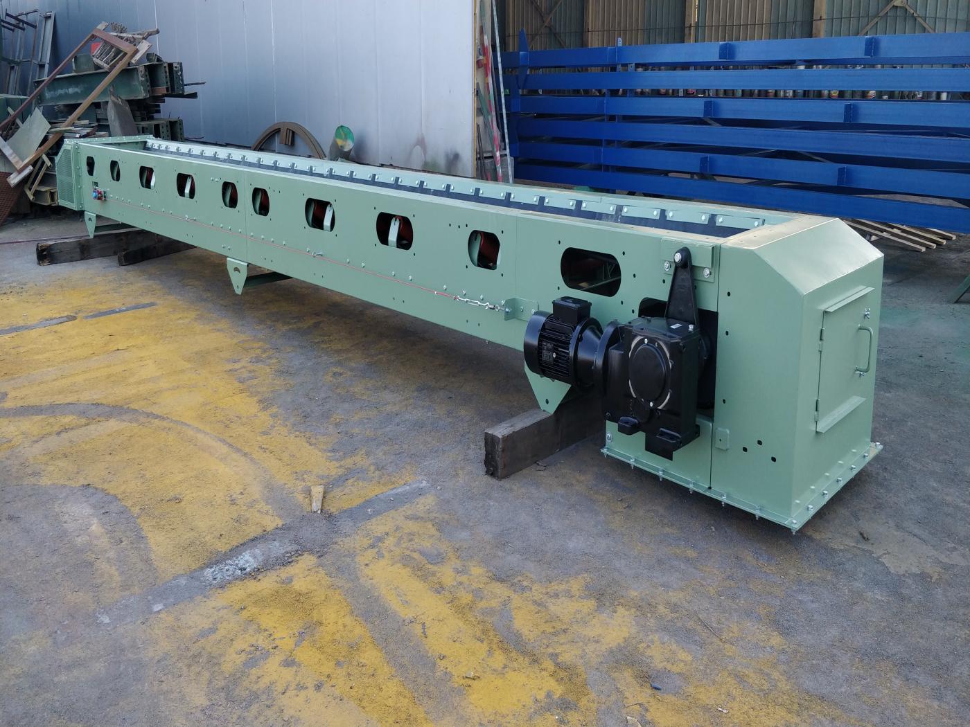Belt Feeding Conveyors - Products - Seretoulis V  Prokopidis